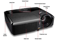 ViewSonic PJD5523W Projector Front View