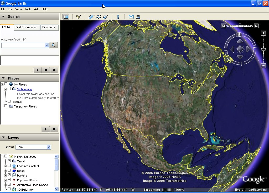 Access live satellite images