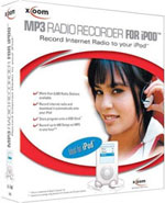 X-OOM MP3 Radio Recorder for iPod