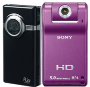 Pure Digital and Sony HD Cameras